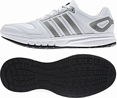 Adidas Mens Sneakersgalaxy Lea Running Scarpe Sportive Fitness Trainer Bianco Taglia 15 New M21899