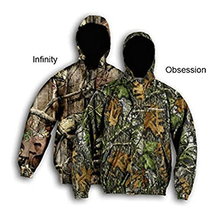eb05b236aa5a Amazon.com  Whitewater Men s Drencher Rain Jacket X-Large Mossy Oak ...