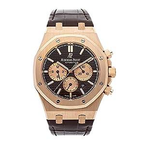 Best Epic Trends 51ciOxLPkNL._SS300_ Audemars Piguet Royal Oak 41MM Brown 18K Rose Gold Men's Watch 26331OR.OO.D821CR.01