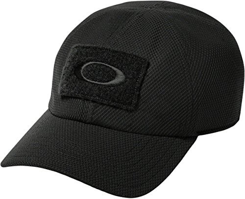 Oakley Men's SI Cap, Jet Black, - Black Hat Oakley