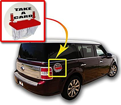 Amazon Marketing Holders Magnetic Outdoor Vehicle Clear