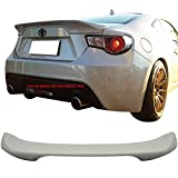 Pre-painted Trunk Spoiler Compatible With 2015-2019 Scion FRS Subaru BRZ | ABS Painted#K1X Crystal White Pearl Trunk Boot Lip Spoiler Wing Deck Lid Other Color Available By IKON MOTORSPORTS | 2016