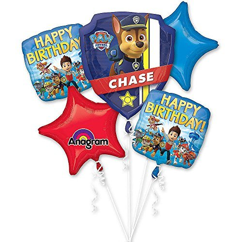 Paw Patrol Party Balloon Bouquet 2PC