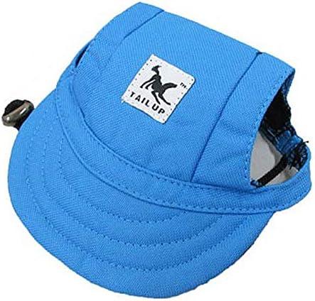 고양이 한 마리가 모자 TAIL UP 【 모자 모자 かぶりもの 외출 상품 】 M 블루 캡 / Dog Cat Small Dog Cap TAIL UP [Hat Hat Coverpiece Outing Good