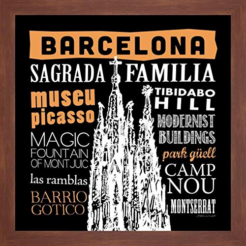 Barcelona Framed - Barcelona by Stephanie Marrott - 16