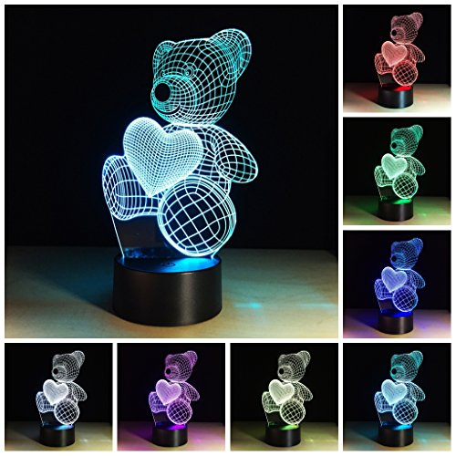 3 Led Colour Changing Night Light in US - 3