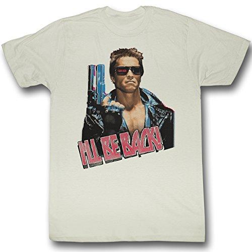American Classics Terminator I'Ll Be Back T Shirt XXL