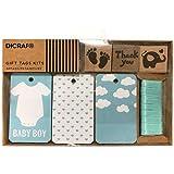 """DISOK - Kit Tarjetas + Sellos """"Baby Boy"""" - Tarjetas para regalos Scrapbooking, Scrap, Handmade, Sellos, Manualidades para Bodas, Bautizos, Comuniones, Albumes, Bautizos, Babys, Bebes"""