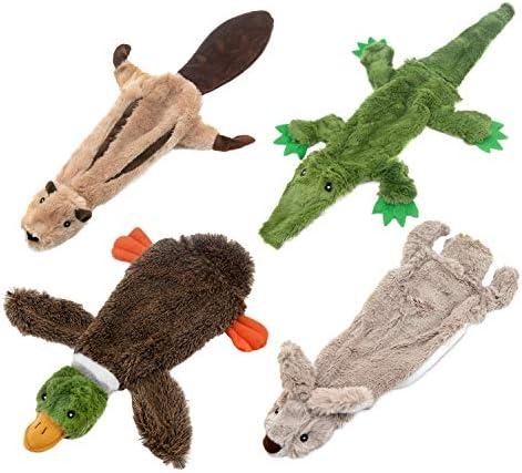 Best Pet Supplies Dog Squeaky Chew Toys Fun Skin,Plush,Log