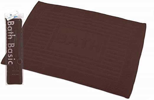 Home Line Alfombra de baño (algodón marrón Chocolate (45 x 65 ...