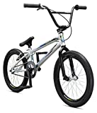 Mongoose Title Pro 20″ Boy's Bicycle, Silver