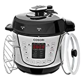 #4: COSORI Electric Pressure Cooker 2 Quart Mini 7-in-1 Multi-Functional, Programmable Non-Stick Steam Rice Cookware, 800W