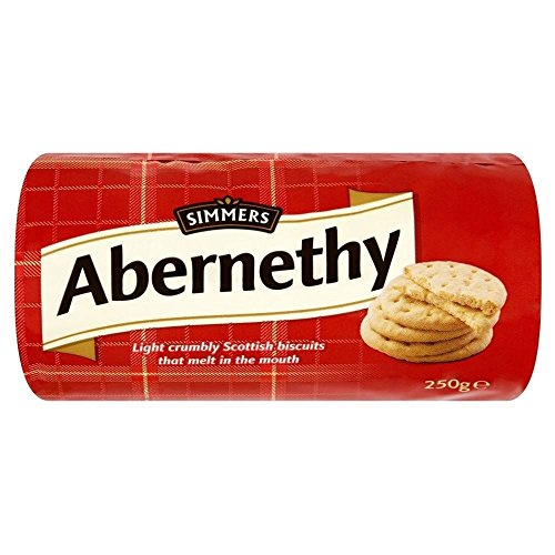 Simmers Abernethy Biscuits (250g) - Pack of 2