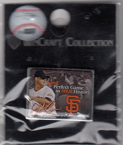 San Francisco Giants Matt Cain 22nd Perfect Game Pin