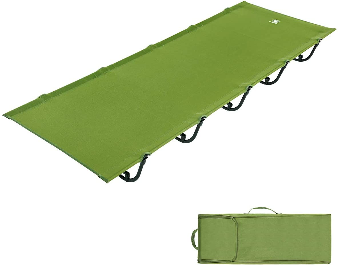 DESERT WALKER Camping cots, Outdoor Bed Ultra Lightweight Bed Portable cot Free Storage Bag Included,2.8 Pounds