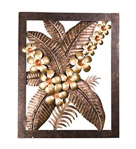 - Wind & Weather Banana Leaf Metal Wall Art - 16 W x 20 H x 2 D