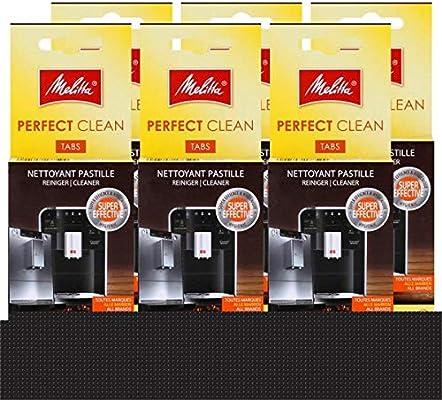 Melitta Perfect Clean Espresso Machines – Pastillas 4 x limpieza 1 ...