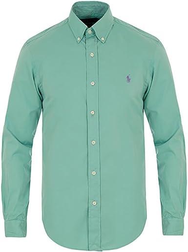 Polo Ralph Lauren - Camisa formal - para hombre verde menta Medium ...