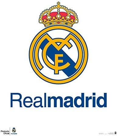 Grupo Erik Editores Mini Poster Real Madrid Escudo: Amazon.es: Oficina y papelería