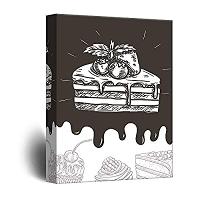 Cupcake Concept Hand Drawn Art, Classic Design, Astonishing Artistry