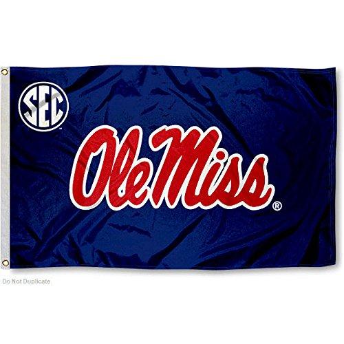 Ole Miss Rebels SEC 3x5 Flag