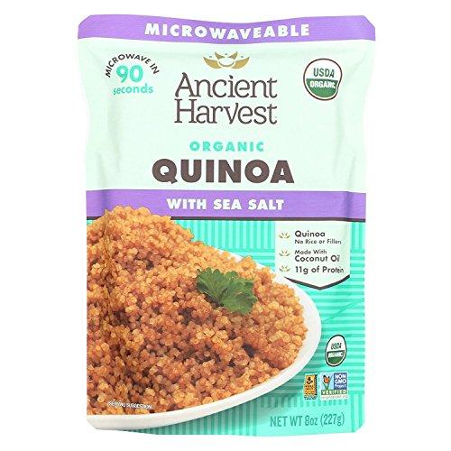 ANCIENT HARVEST, Anc Hrv Quin, Og2, Sea Salt, Pack of 12, Size 8 OZ, (GMO Free 95%+ Organic)