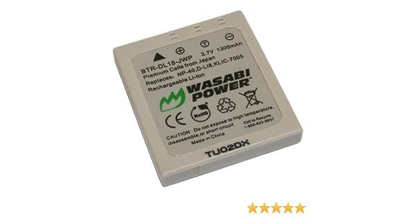 Batterie 1000mAh type D-LI8 D-Li85 Pour Pentax Optio S4
