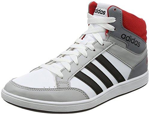 pour Hoops Hoops pour adidas K Mid Garçon Gris Bottes wAHHxqI c33377