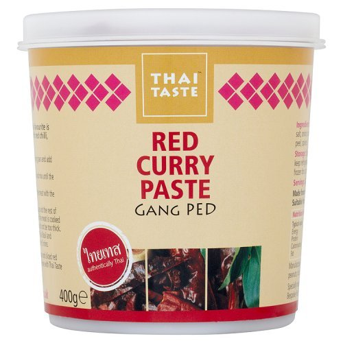 Thai Taste - Red Curry Paste - Gang Ped - 400g