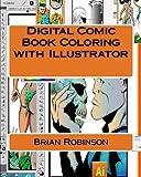 Digital Comic Book Coloring with Illustrator