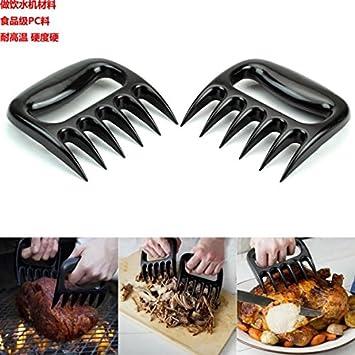 Pulled pork destructora garras, carne handler tenedores para ...
