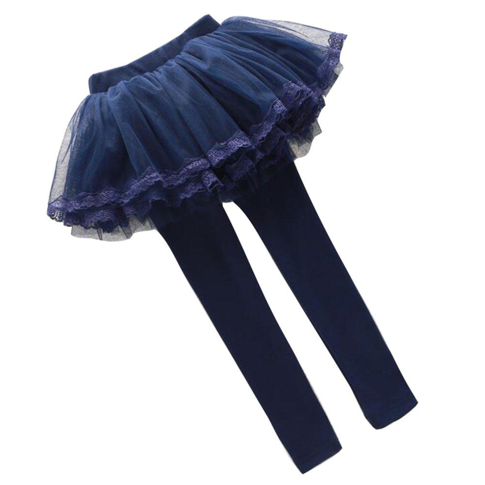 Leggings Bimbo in cotone Bambini Girls Juleya Bambina delle Mini tutù ghette dei pantaloni con il tutu gonna del pizzo Autunno 1-12 Anni P170315KZ18820-J