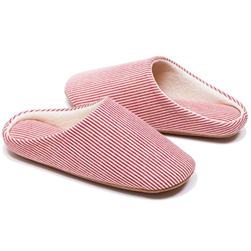 RelaxedFoot Cotton Pair with Red Foam Organic Memory Storage Slippers Bag amp; 1 rAq1Uwr