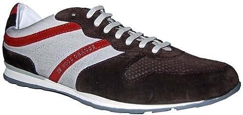 Hugo Boss Orlero - Zapatillas para Hombre Marrón marrón Oscuro 44: Amazon.es: Zapatos y complementos