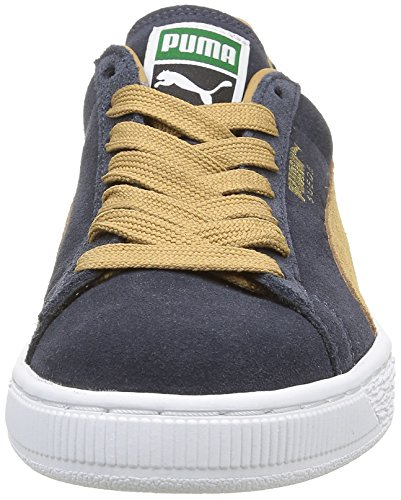 Puma Puma Classic Wedge L - Zapatillas Bleu (New Navy/Apple Cinnamon)