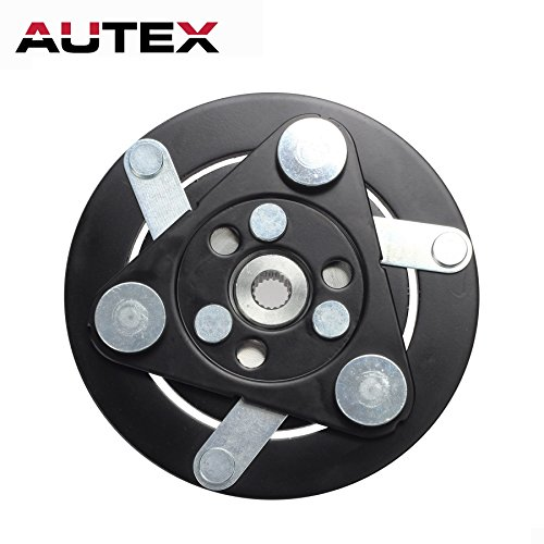 AUTEX AC A/C Compressor Clutch Plate HUB Replacement for HONDA CR-V 2007 2008 2009 2010 2011 2012 2013 2014 07 08 09 10 11 12 13 14 2.4L ()