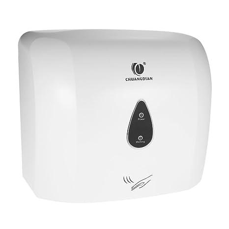 Anself - Secador de Mano Automático de Sensor Eléctrico Montado a Pared para Baño / Aseo