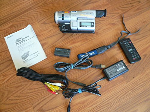 Sony DCR-TRV110 digital8 NTSC camcorder plays 8mm & Hi8 analog (Sony Handycam Hi8 Camcorder)
