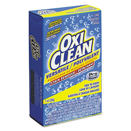 OxiClean 5165500 Versatile Stain Remover Vend-Box, 1-Load, 1oz Box (Case of 156) by OxiClean