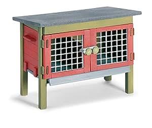 Schleich - 42019.  Accesorio jaula para conejos de Juguete