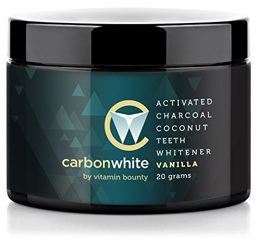Carbonwhite - Activated Charcoal Teeth Whitening Vanilla Mint
