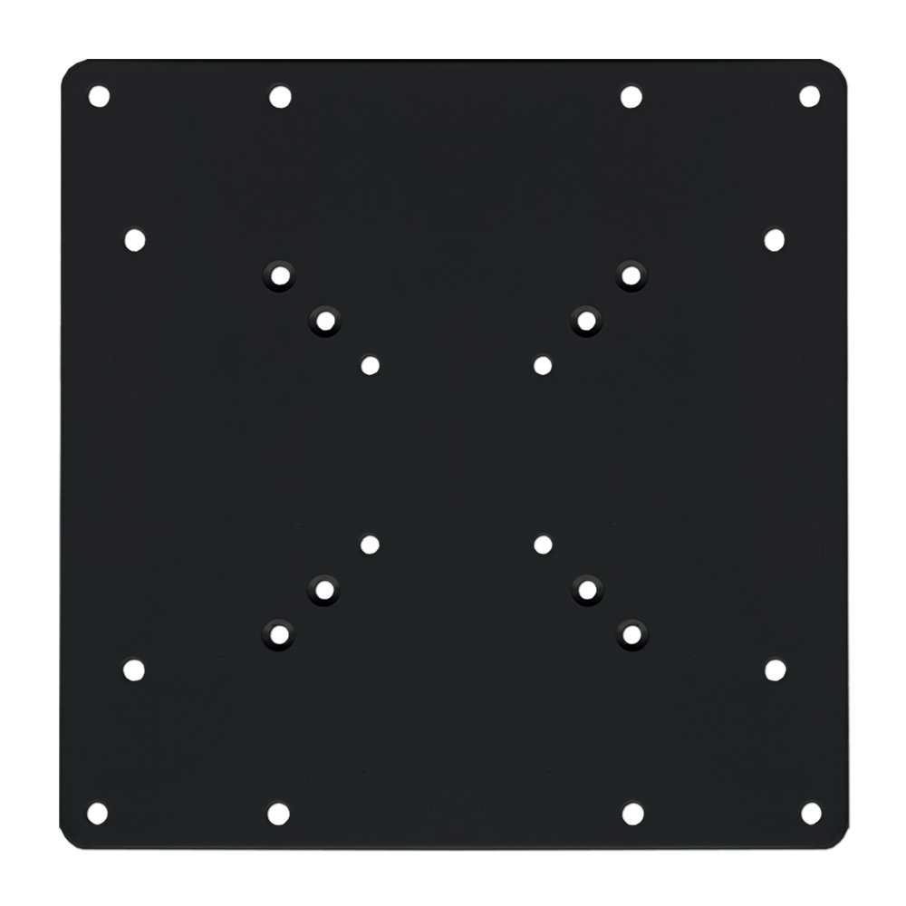 Brateck VESA Head Mount Adaptor Plate - Black LCD-201C