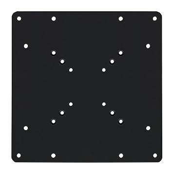 Brateck VESA - Placa adaptadora para soporte de pared, color negro: Amazon.es: Electrónica