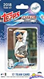 #10: Los Angeles Dodgers 2018 Topps Baseball EXCLUSIVE Special Limited Edition 17 Card Complete Team Set with Clayton Kershaw, Corey Seager, Cody Bellinger & Many More! Shipped in Bubble Mailer! WOWZZER!