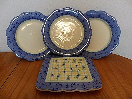 Pfaltzgraff Stoneware Trivet - Pfaltzgraff Summer Breeze Pattern 9