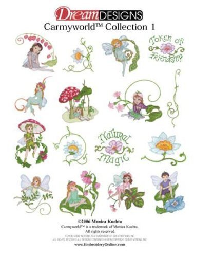 OESD Embroidery Machine Designs CD CARMYWORLD #1