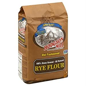 Amazon.com : Hodgson Mill Rye Flour (6x5LB ) by Hodgson