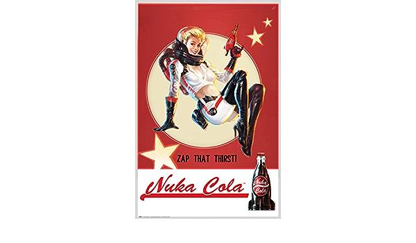 Offiziell lizenziert Fallout 4 Poster Nuka Cola 61x91.5cm