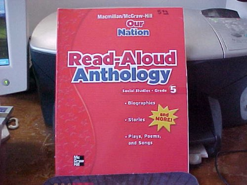 Our Nation Read-Aloud Anthology Social Studies Grade 5