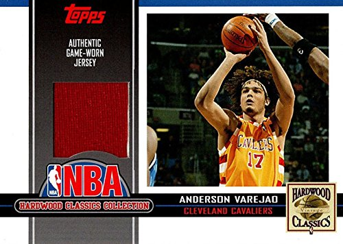 Unsigned Jersey Collection (Signed Varejao, Anderson (Cleveland Cavaliers) Anderson Varejao 2005-06 Topp Hardwood Classic Collections Unsigned Basketball Jersey Card. autographed)
